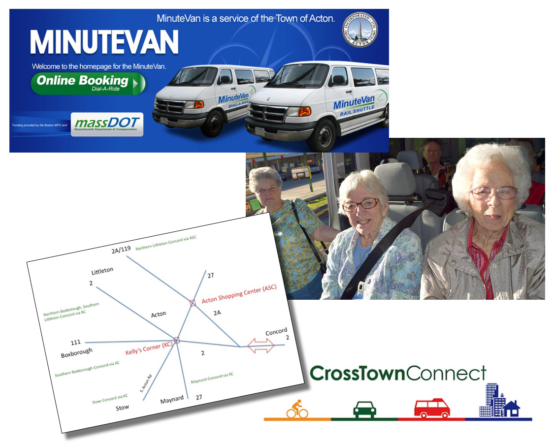 Crosstown Connect Mobility Management Program - Acton, MA and Adjacent Towns